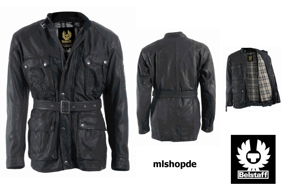 neu belstaff knockhill vintage motorrad lederjacke. Black Bedroom Furniture Sets. Home Design Ideas