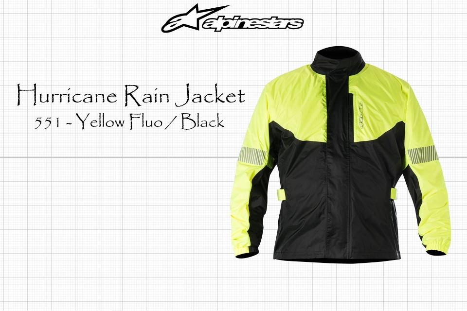 Alpinestars Hurricane Jacket Size 2XL Black